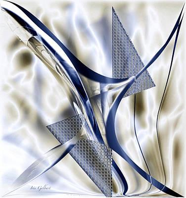 Digital Art - Abstract Design Two by Iris Gelbart