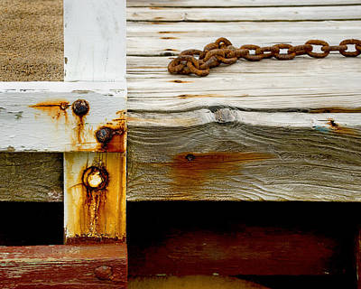 Photograph - Abstract Dock by Charles Harden