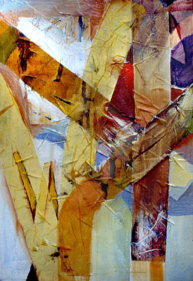 Painting - Abstract Done 1975 by Nancy Griswold