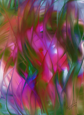 Abstract Dreams Art Print