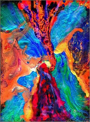 Abstract - Evolution Series 1004 Art Print by Dina Sierra