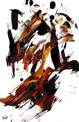 Painting - Abstract Expressionism Painting 101.122210 by Kris Haas