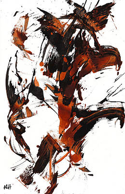 Painting - Abstract Expressionism Painting 101.122211 by Kris Haas