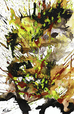 Painting - Abstract Expressionism Painting Series 1888.031814 by Kris Haas