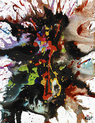 Painting - Abstract Expressionism Painting Series 1899.032214 by Kris Haas