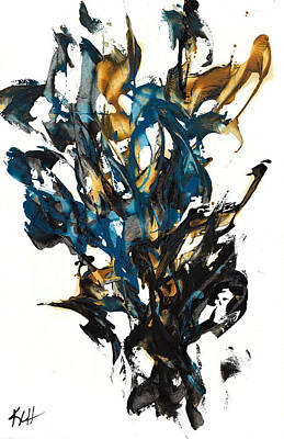 Painting - Abstract Expressionism Painting Series 614.102310 by Kris Haas