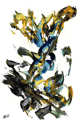 Painting - Abstract Expressionism Painting Series 618.102310 by Kris Haas
