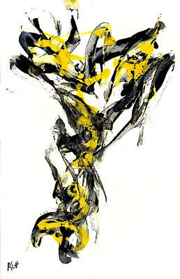 Painting - Abstract Expressionism Painting Series 636.102410vs by Kris Haas
