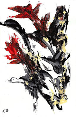 Painting - Abstract Expressionism Painting Series 654.102410 by Kris Haas