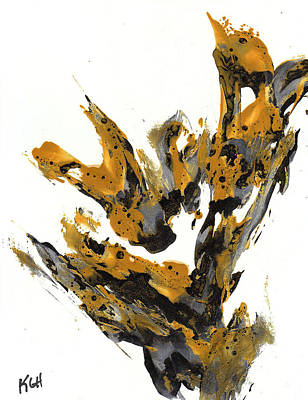 Painting - Abstract Expressionism Painting Series 670.102510 by Kris Haas