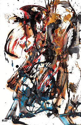 Painting - Abstract Expressionism Painting Series 700.102610 by Kris Haas