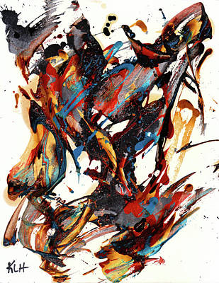 Painting - Abstract Expressionism Painting Series 704.102610 by Kris Haas