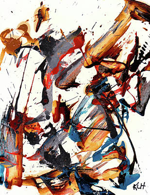 Painting - Abstract Expressionism Painting Series 705.102610 by Kris Haas