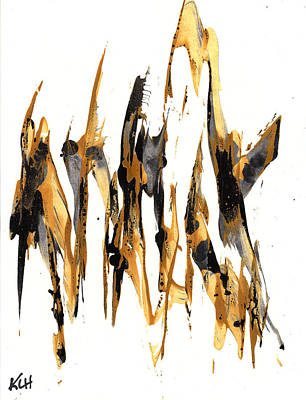 Painting - Abstract Expressionism Painting Series 733.102910 by Kris Haas