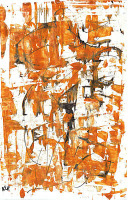 Painting - Abstract Expressionism Painting Series 782.113011 by Kris Haas