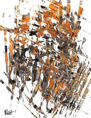 Painting - Abstract Expressionism Painting Series 829.120411 by Kris Haas
