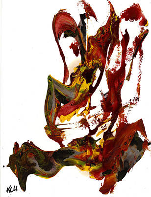 Painting - Abstract Expressionism Painting Series 832.110210 by Kris Haas