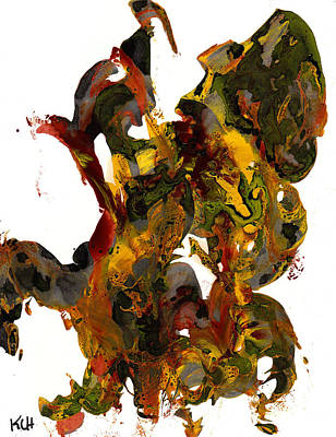 Painting - Abstract Expressionism Painting Series 835.110210 by Kris Haas