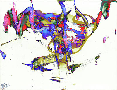 Painting - Abstract Expressionism Painting Series 8949.091809invfaddiff by Kris Haas