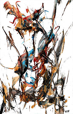 Painting - Abstract Expressionism Painting Series 954.111410 by Kris Haas