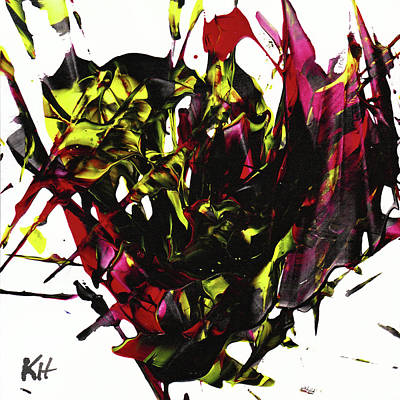 Painting - Abstract Expressionism Painting Series 955.022912 by Kris Haas
