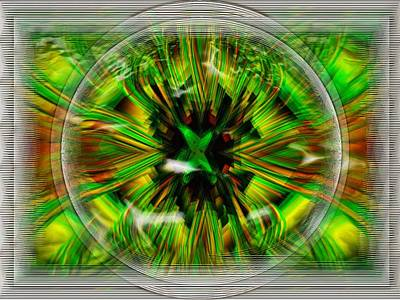 Digital Art - Abstract Ezplosive by Mario Carini