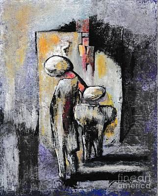 Abstract Figures Original by Ronda Breen