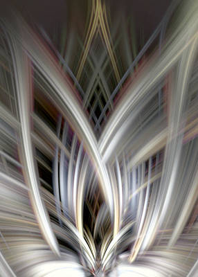 Digital Art - Abstract Flame by Diane Dugas