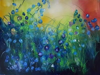 Painting - Abstract Flax           31 by Cheryl Nancy Ann Gordon