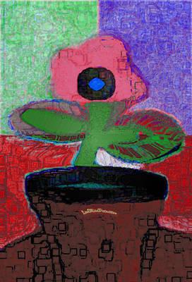 Digital Art - Abstract Floral Art 111 by Miss Pet Sitter