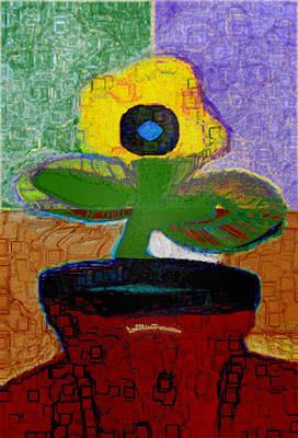 Digital Art - Abstract Floral Art 112 by Miss Pet Sitter