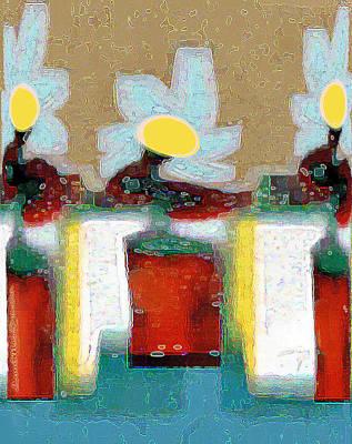Digital Art - Abstract Floral Art 204 by Miss Pet Sitter