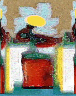 Digital Art - Abstract Floral Art 206 by Miss Pet Sitter
