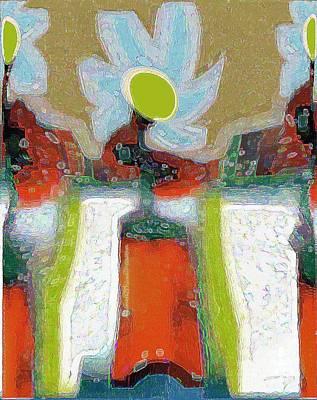 Digital Art - Abstract Floral Art 228 by Miss Pet Sitter