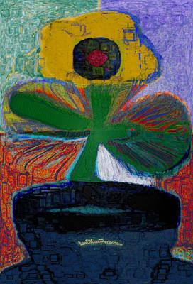 Digital Art - Abstract Floral Art 236 by Miss Pet Sitter