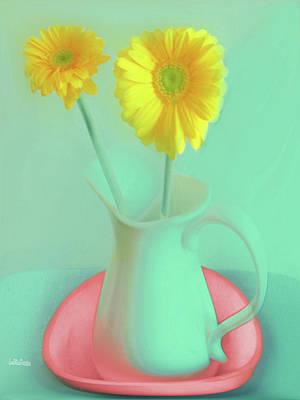 Digital Art - Abstract Floral Art 309 by Miss Pet Sitter