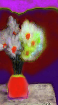 Digital Art - Abstract Floral Art 340 by Miss Pet Sitter