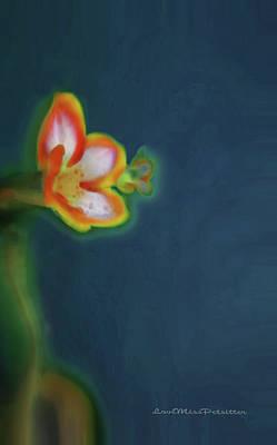 Digital Art - Abstract Floral Art 68 by Miss Pet Sitter