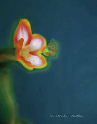 Digital Art - Abstract Floral Art 69 by Miss Pet Sitter