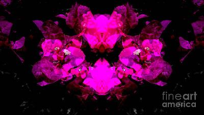 Abstract Floral No.2 Art Print