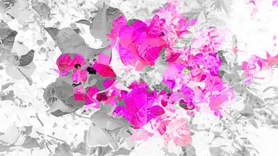 Abstract Floral No.4 Art Print