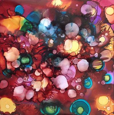 Painting - Abstract Floral by Suzanne Canner