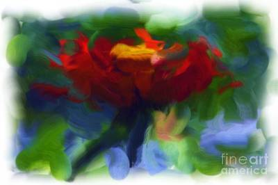 Photograph - Abstract Flower Expressions 2 by Robyn King