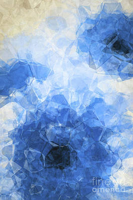 Abstract Flower Vii Art Print by Angela Doelling AD DESIGN Photo and PhotoArt