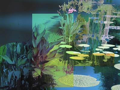 Abstract Flowers Of Light Series #20 Art Print