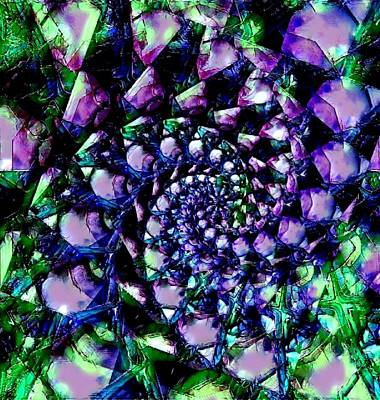 Cabochon Digital Art - Abstract Fractal 2 by Artful Oasis