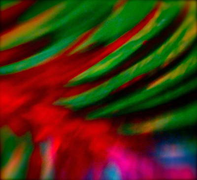 Abstract Movement Mixed Media - Abstract Frolic by Gwyn Newcombe