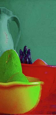 Digital Art - Abstract Fruit Art 89 by Miss Pet Sitter