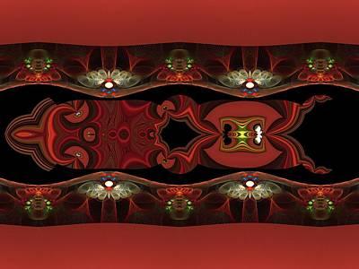 Digital Art - Abstract Fun by Nancy Pauling