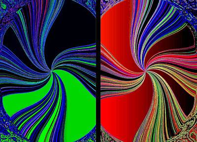 Digital Art - Abstract Fusion 270  by Will Borden
